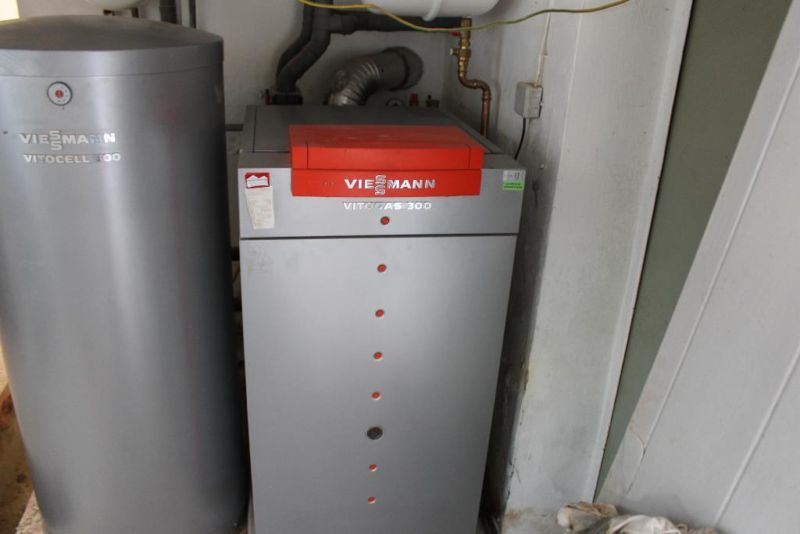 Instalación interacumulador Viessmann Vitocell 300 V