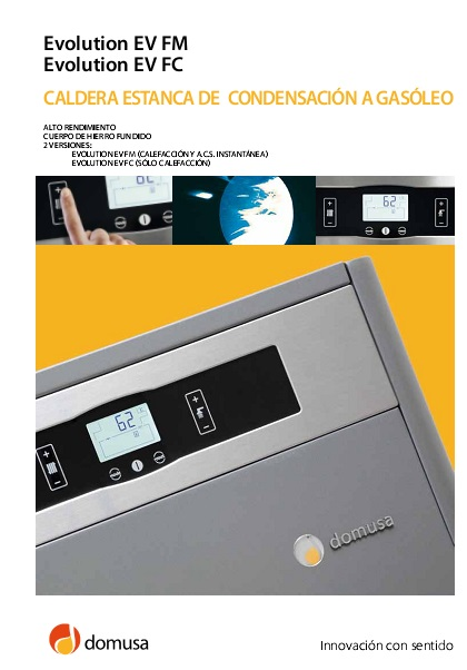Catalogo Caldera Domusa Evolution EV F