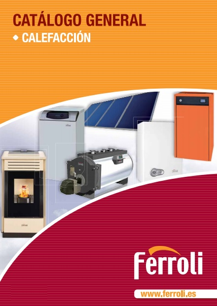 Catalogo general Calefacción Ferroli