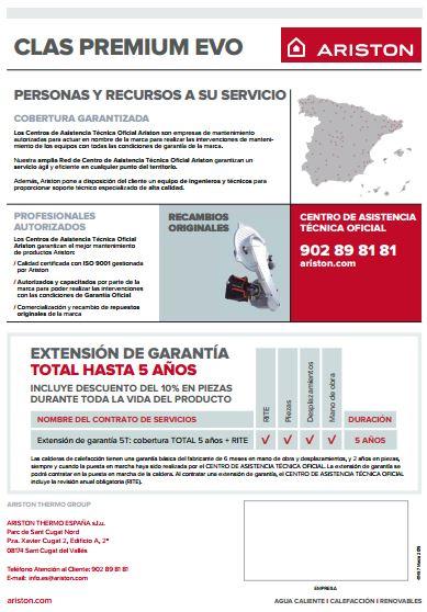 ARISTON  Caldera Clas Premium EVO 780