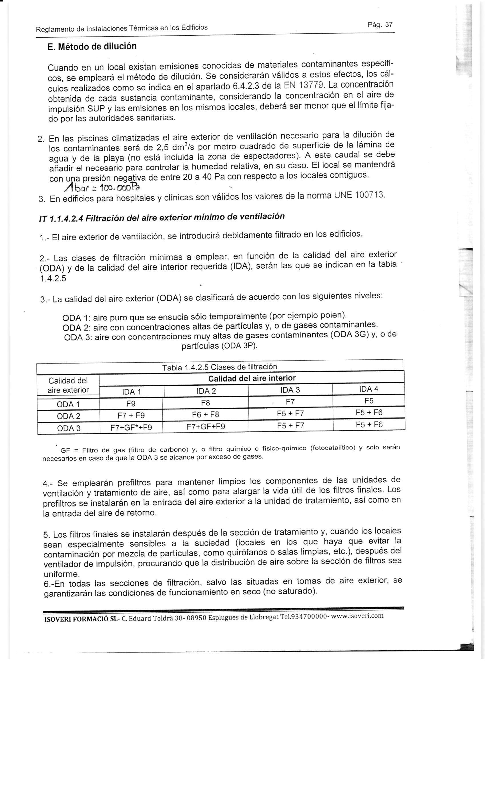 Información sobre recuperadores de calor 2