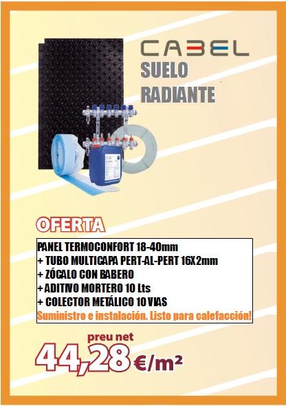 Precio instalaci n calefacci n suelo radiante - Precio m2 suelo radiante ...
