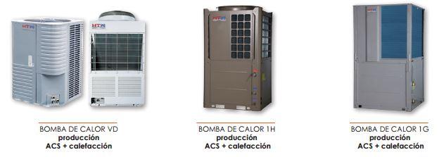 Tarifa de precios aire acondicionado htw 2016 for Bombas de calor y frio precios