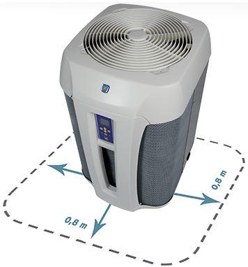 Bombas de calor para piscinas climatizaci n al mejor precio for Instalacion de bomba de calor para piscinas