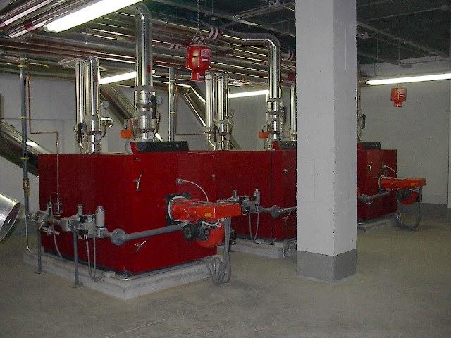 calefaccion sala de calderas