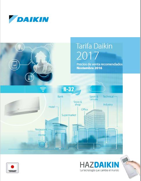 catalogo daikin 2017