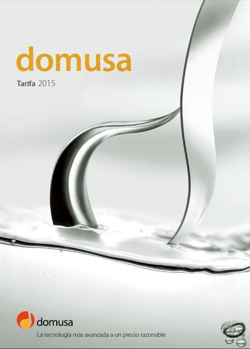 catalogo domusa 2015