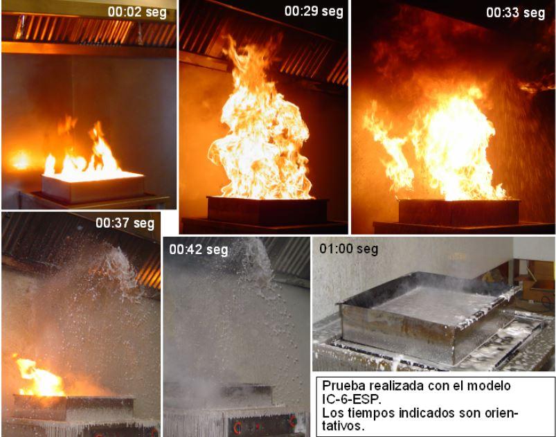 control antiincendios