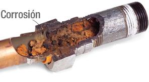 corrosion calefaccion