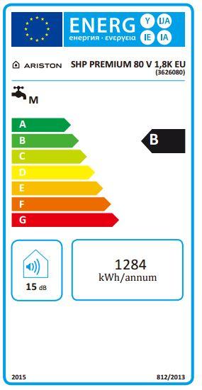 etiqueta shape premium 80V 18