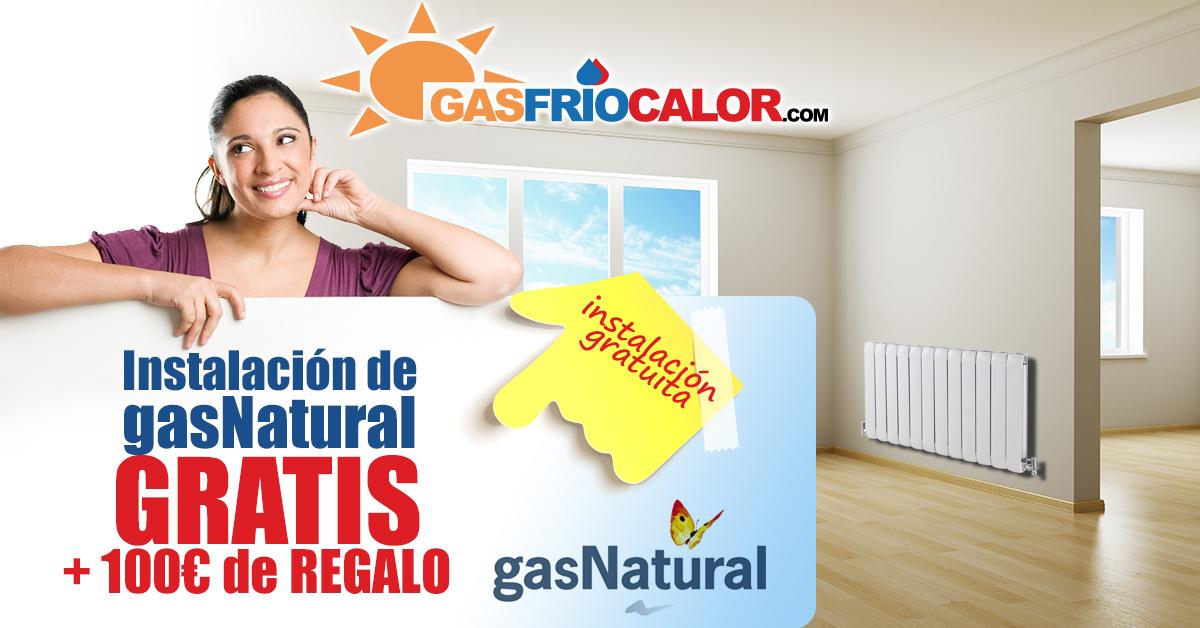 instalar gas gratis