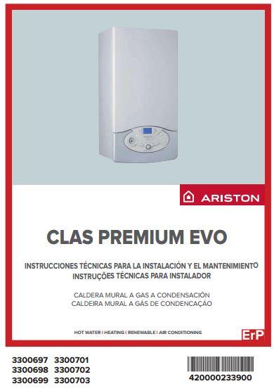 Caldera ariston clas premium evo system 24 eu for Clas premium evo eu