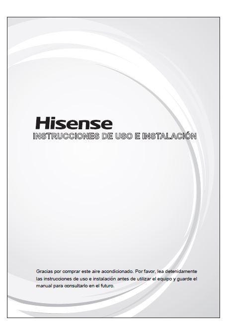 Manual instrucciones hisense portatil