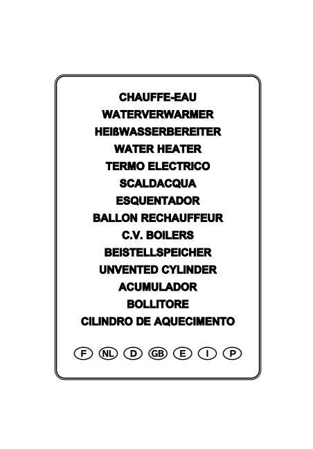 Manual instrucciones termo fleck TG