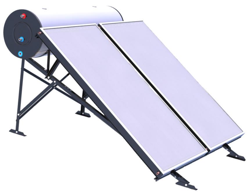 placa solar termosifon