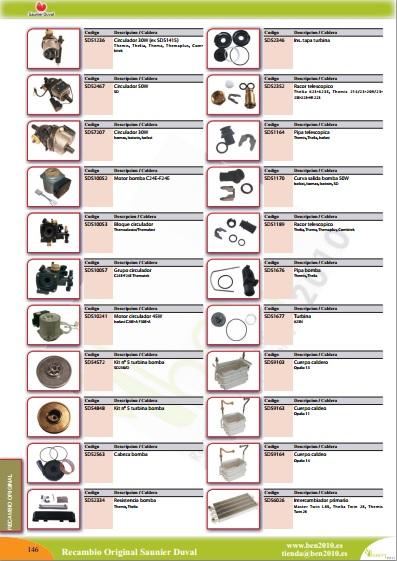 saunier duval catalogo