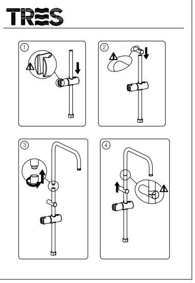 sistem ducha manual