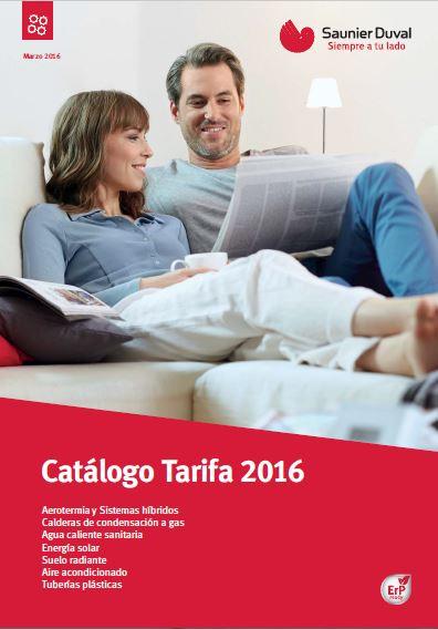 Tarifa De Precios Calefacci N Saunier Duval 2016