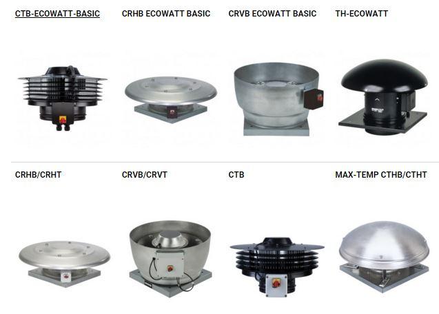 ventiladores de tejado solerpalau