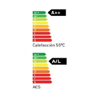Bomba de calor Baxi Platinum BC iPlus V200 hybrid - Clase Energetica