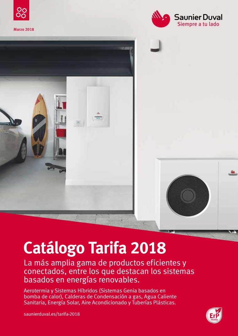 Catalogo Tarifa Saunier Duval 2018