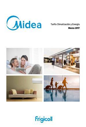 Tarifa Midea 2017