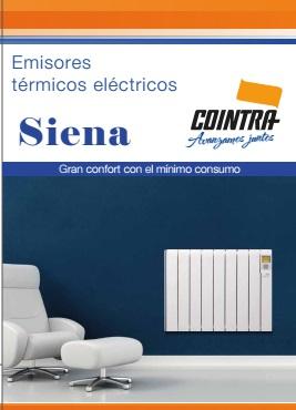 Catalogo comercial Emisor termico Cointra SIENA