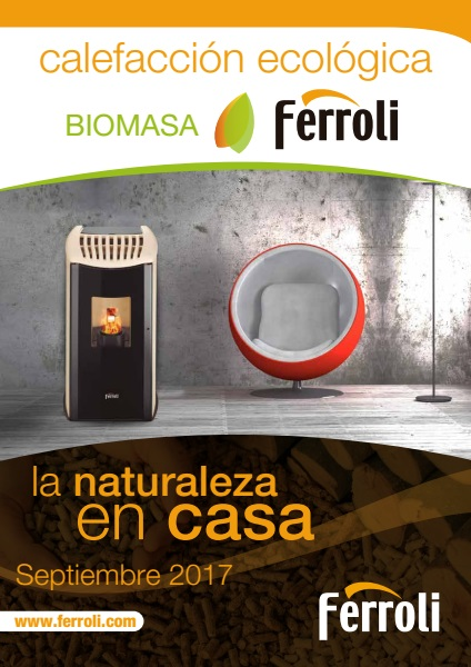 Catalogo Ferroli - Biomasa