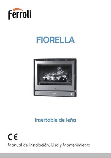 Insertable de Leña Ferroli Fiorella 700 - Manual de Instalación