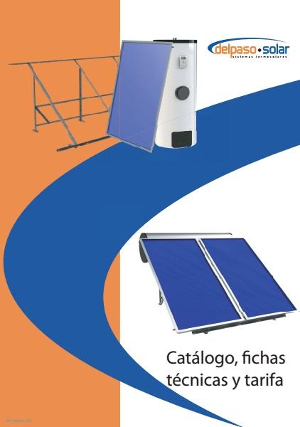 Catalogo tarifa Gasfriocalor Solar