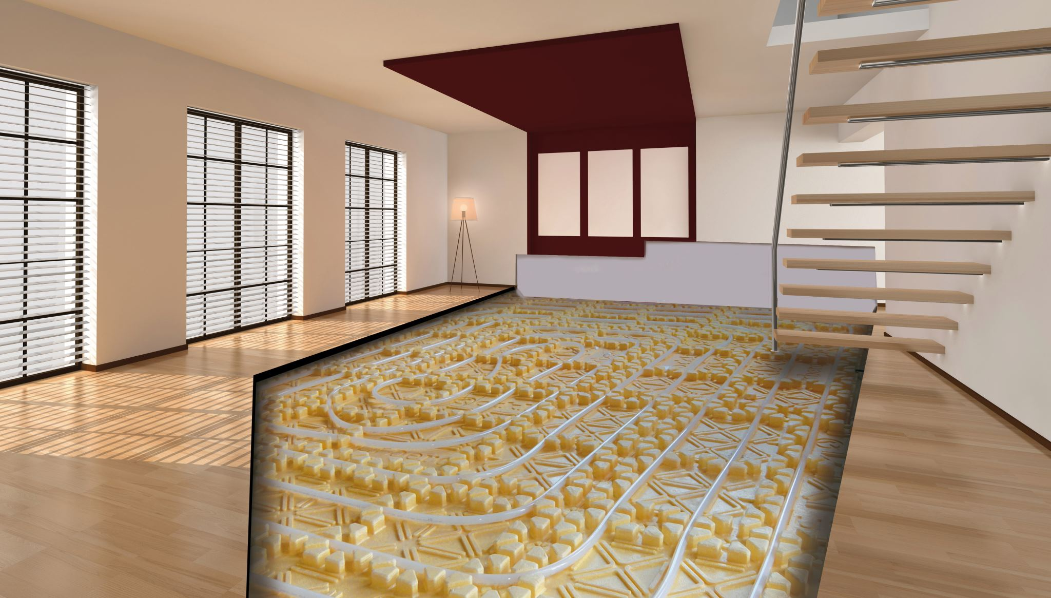 Nuevo suelo radiante de orkli - Como instalar suelo radiante ...