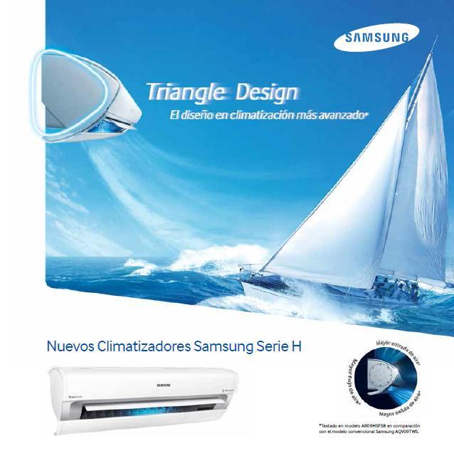Catalogo Aire Acondicionado Samsung Serie H