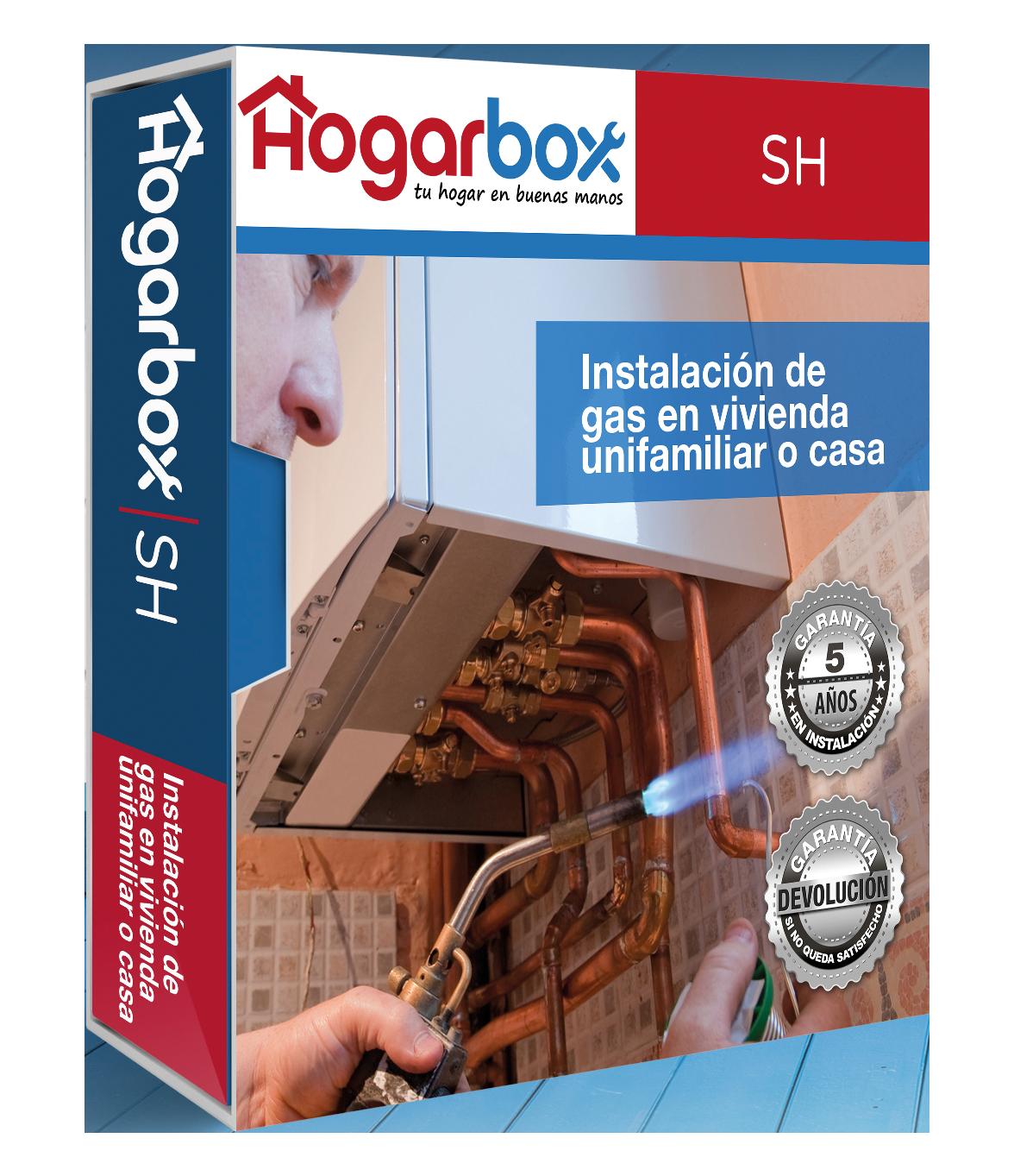 Hogarbox sh precio instalaci n gas natural vivienda - Precio de calentadores de gas natural ...