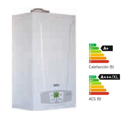 Caldera a gas de condensaci n baxi platinum compact eco 24f - Caldera mixta gas ...