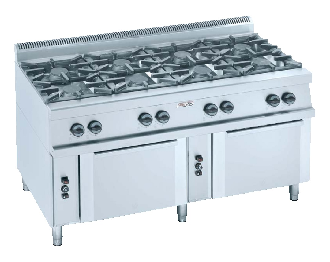 Cocina con horno a gas eurast 3503 8 fuegos - Cocina con horno ...