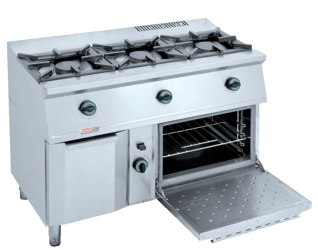 Cocina con horno a gas eurast 3301 2 3 fuegos - Cocina gas 3 fuegos ...