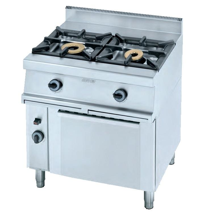 Cocina con horno a gas eurast 3303 2 fuegos - Cocina con horno ...