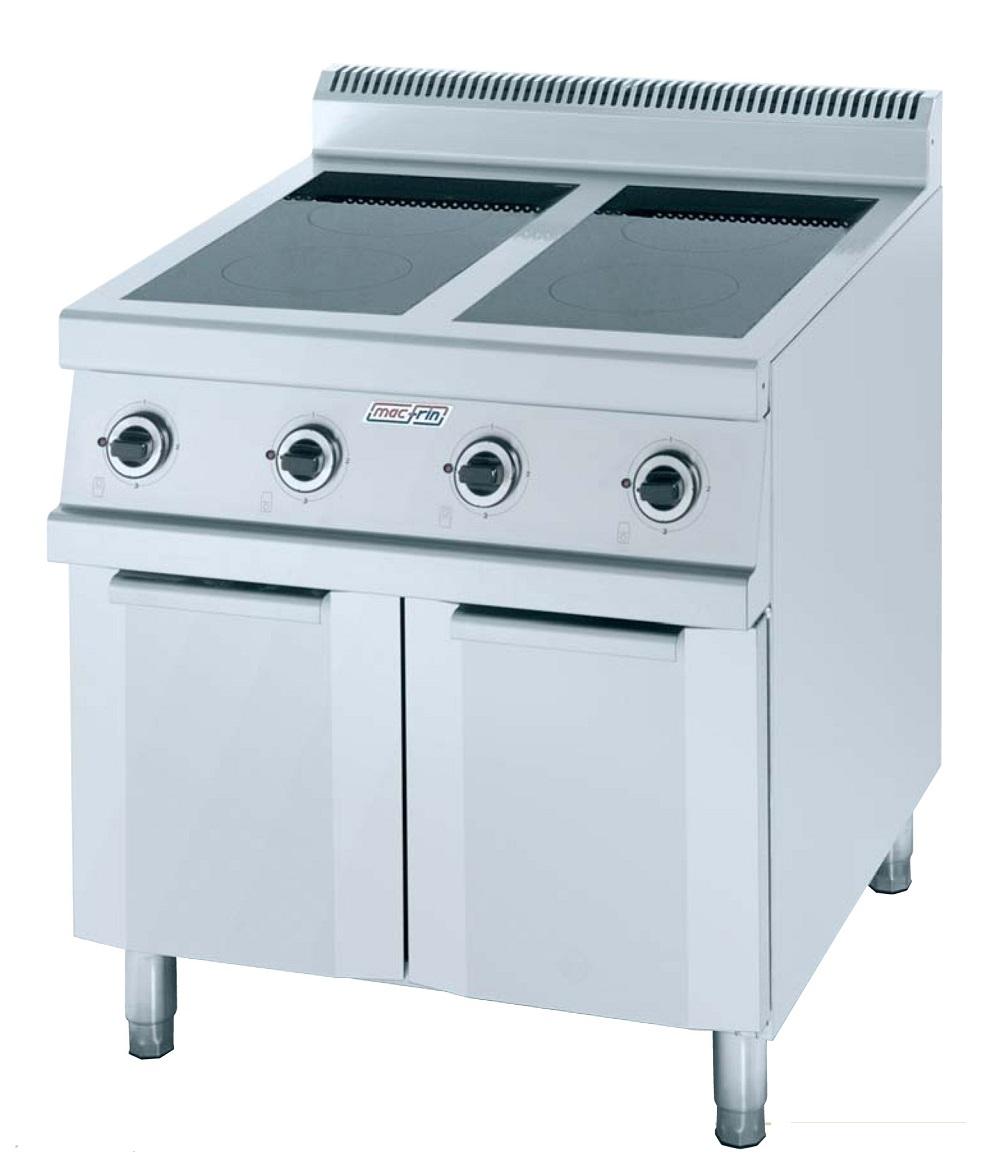 Cocina de inducci n eurast 3471 2 fuegos for Cocina induccion precio