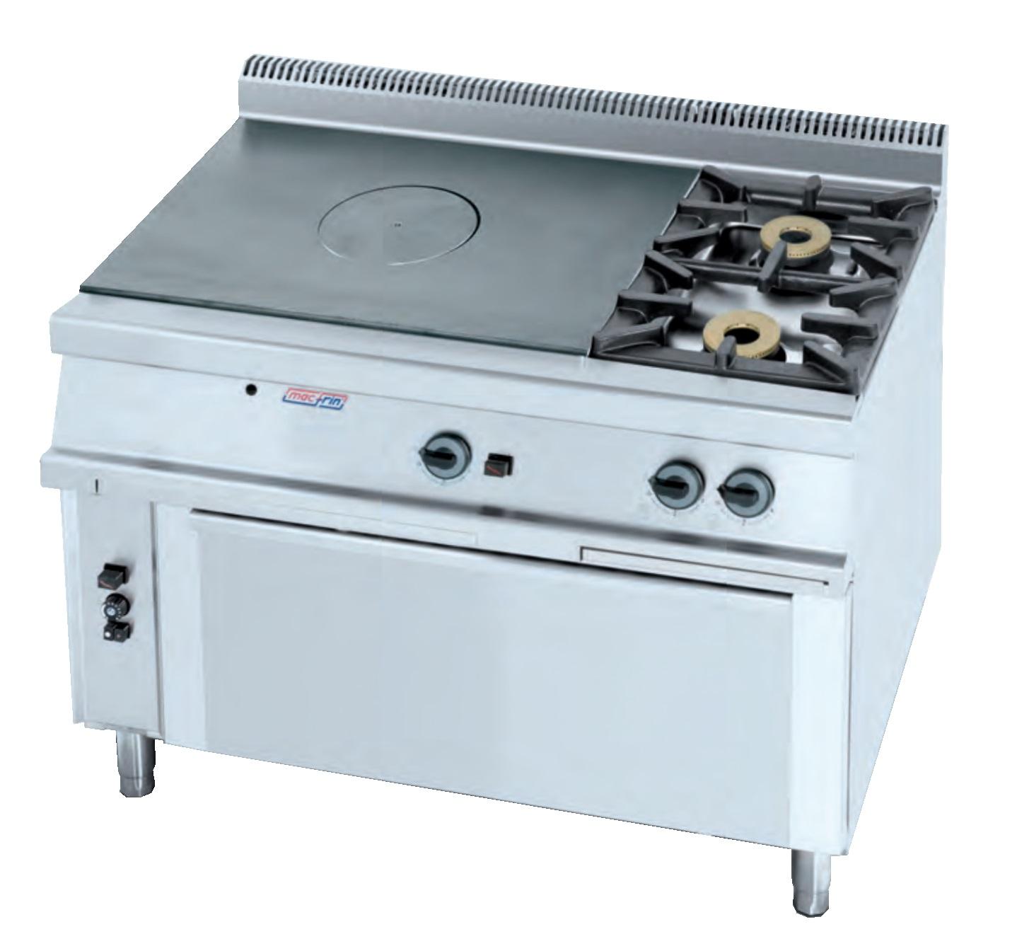 Cocina plancha a gas eurast 5011 3 fuegos - Cocina con plancha ...