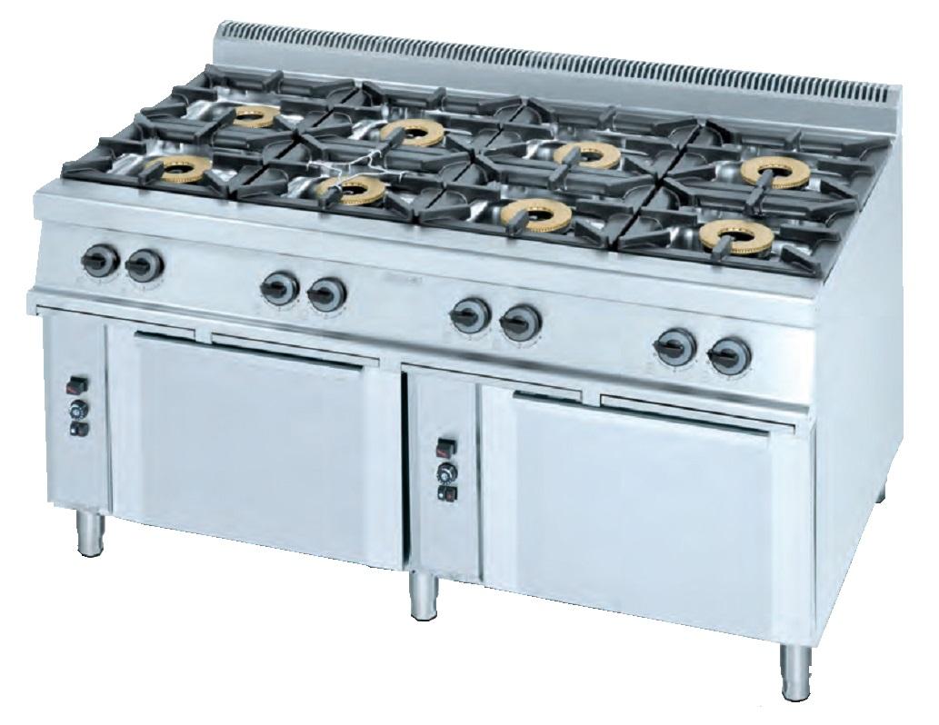 Cocina con horno eurast 3403 8 fuegos - Cocina con horno ...
