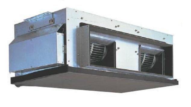 Aire acondicionado mitsubishi electric conductos trif sico for Maquina aire acondicionado por conductos