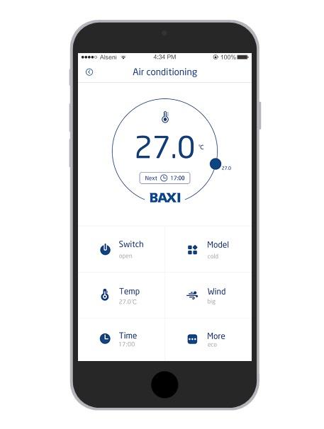 Control WIFI Baxi TXAC SMART