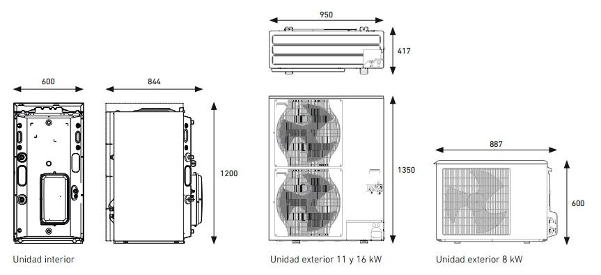 Bomba de calor baxi platinum bc plus v200 8 mr - Aerotermia opiniones ...