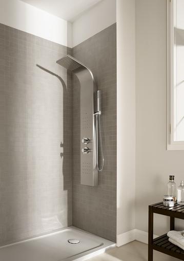 Columnas de hidromasaje para duchas precios y ofertas for Instalacion griferia ducha
