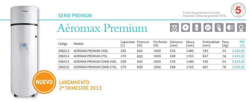 Bomba de calor thermor a romax premium 270 l - Bomba de calor opiniones ...