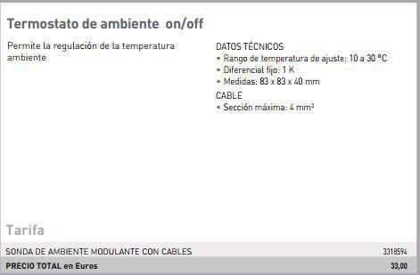 Termostato ambiente ariston on off - Termostato de ambiente ...
