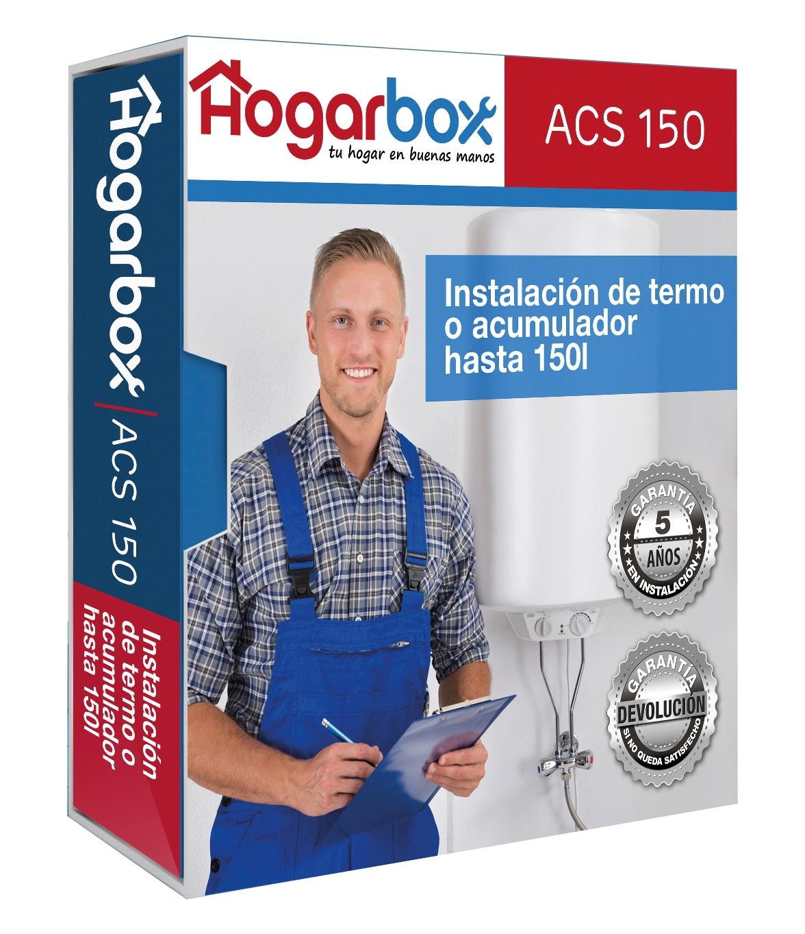 Hogarbox acs 150 instalaci n termo el ctrico 150 litros - Termo electrico 150 litros ...