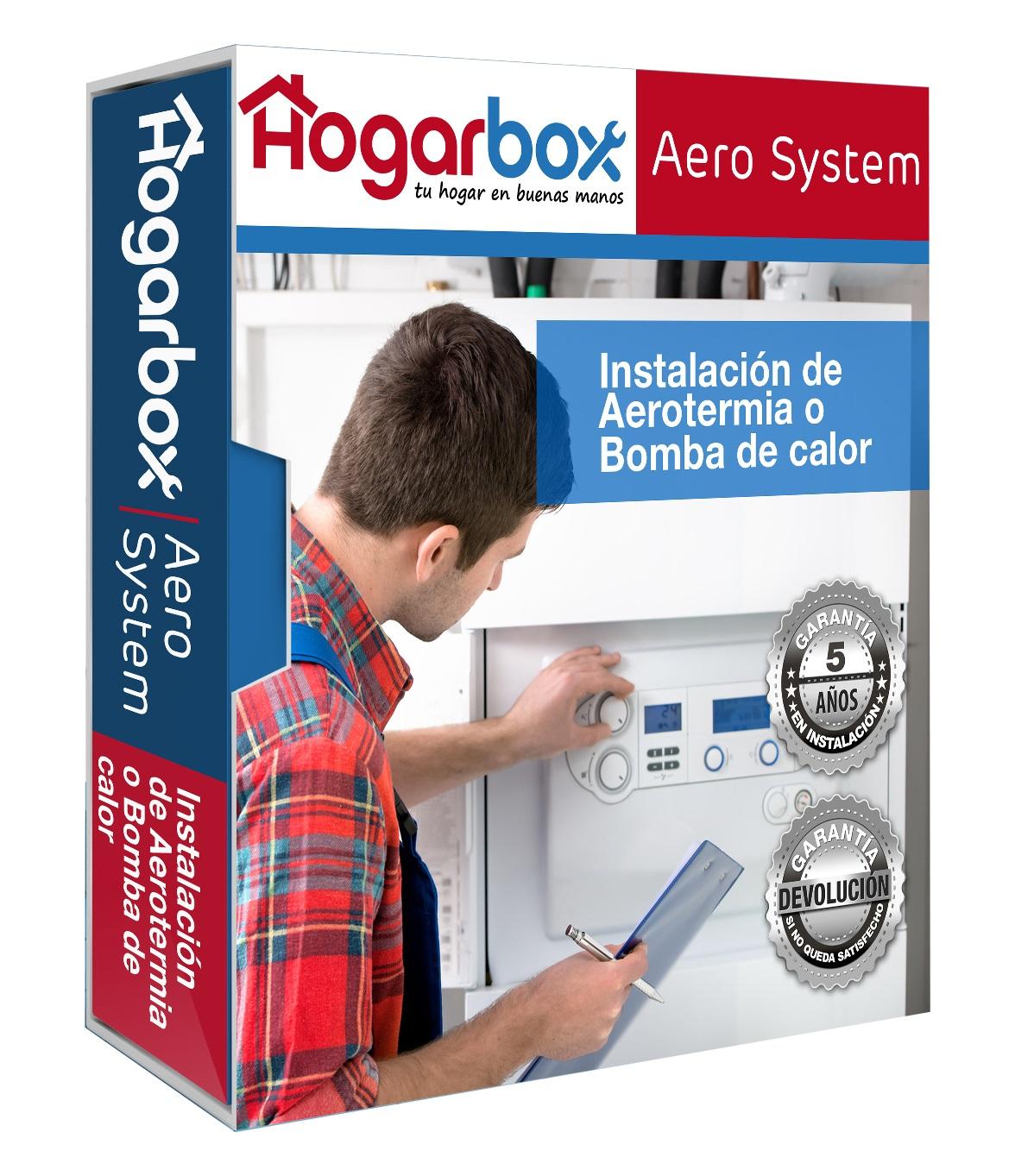 Hogarbox aero system instalaci n de aerotermia o bomba de - Bomba de calor opiniones ...