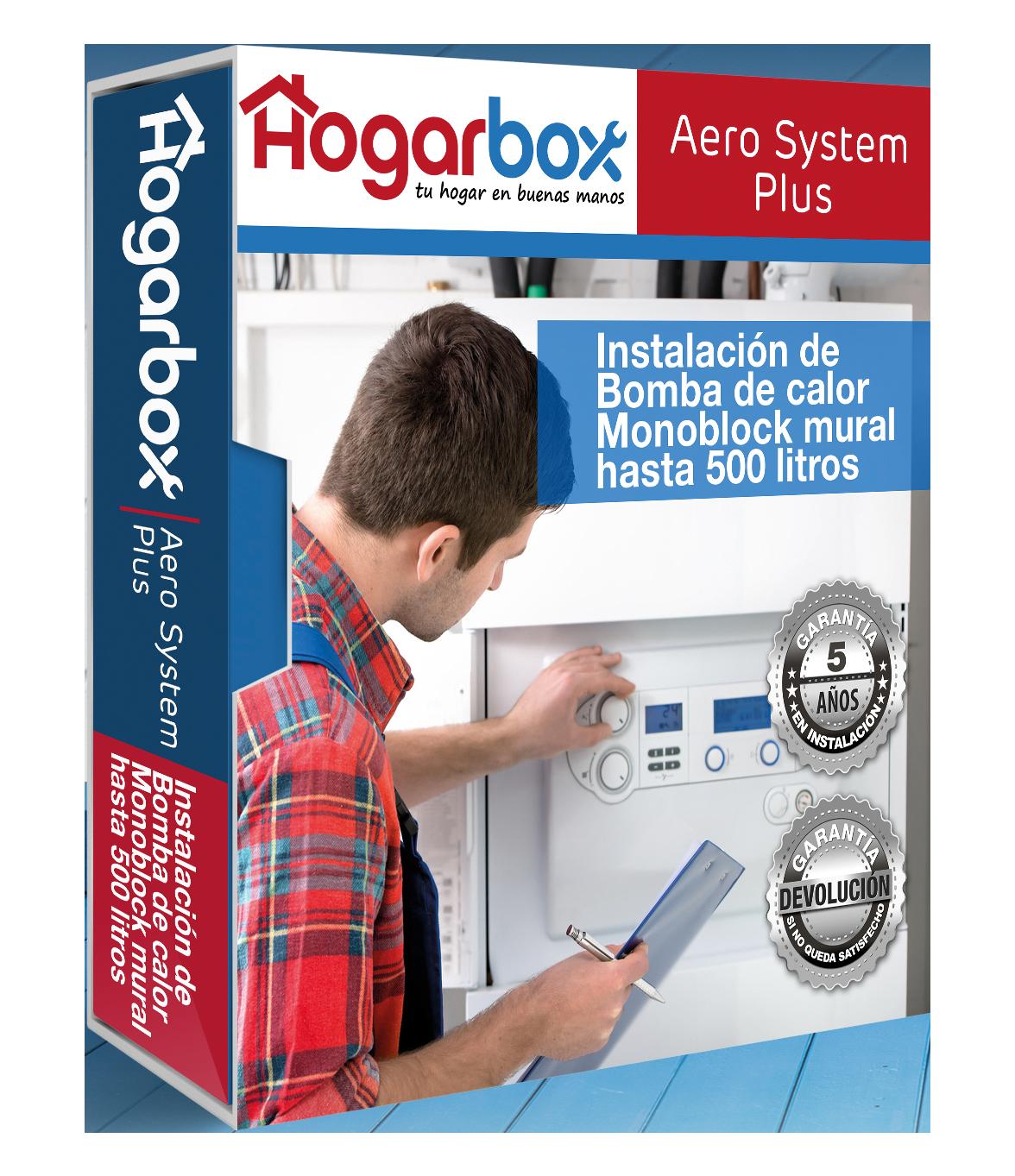 Hogarbox aero system plus instalaci n bomba de calor con acs for Instalacion de bomba de calor para piscinas