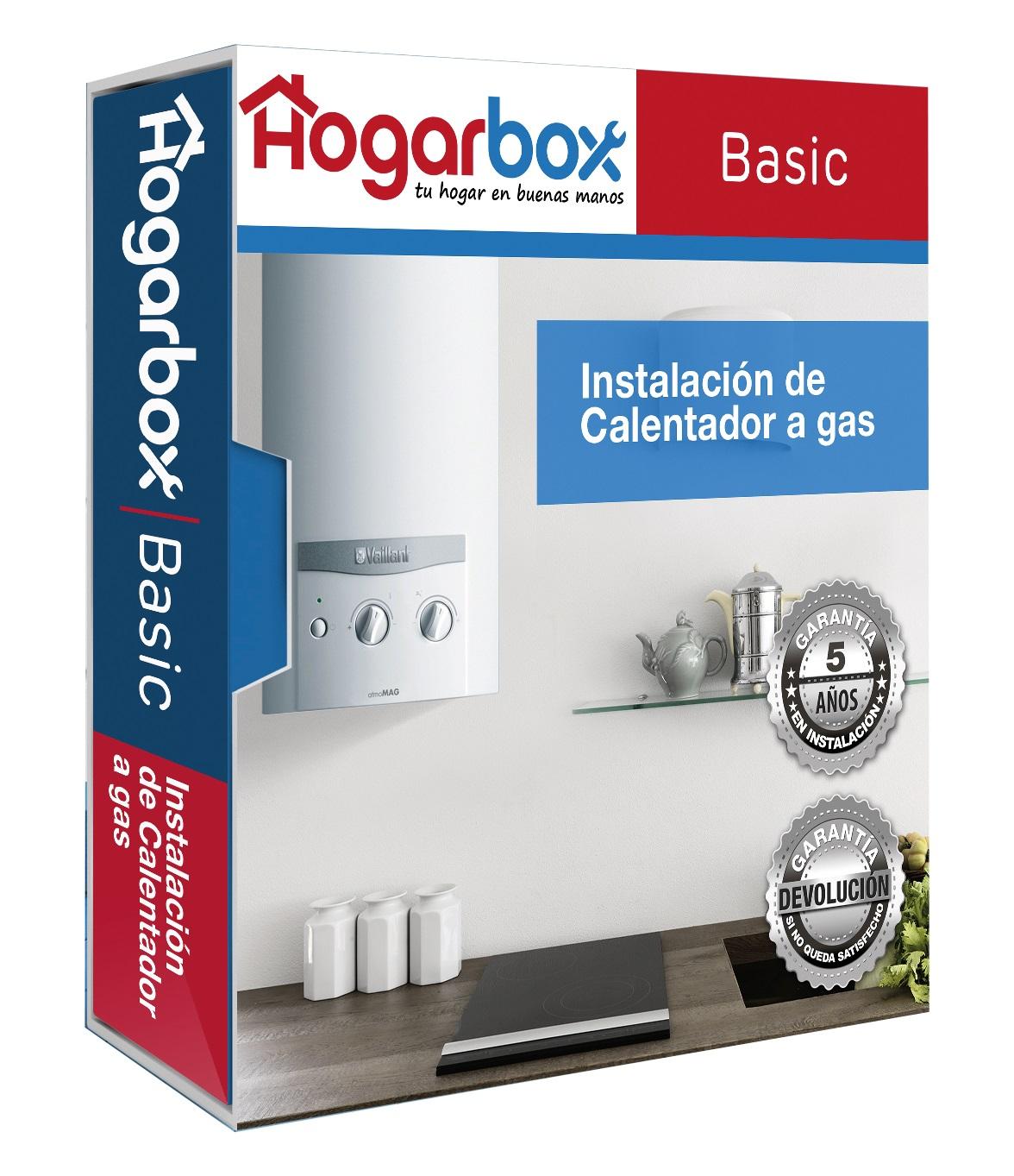 Instalación Calentador HogarBox